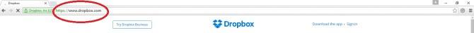Address Bar Google Chrome Browser