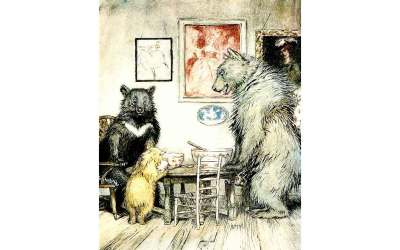 Goldilocks and a Lesson in Mindful Eating
