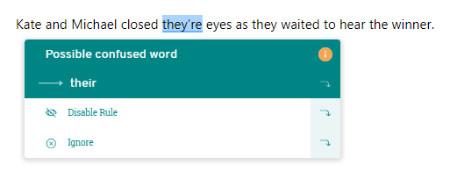 PWA Confused Words