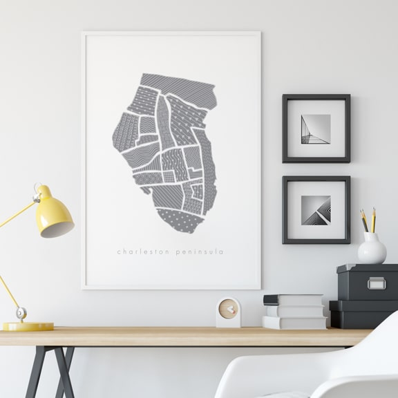 "BROWSE THE ""CHARLESTON MAP"" SERIES"