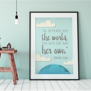 "BROWSE THE ""QUOTE INSPIRED ART"""