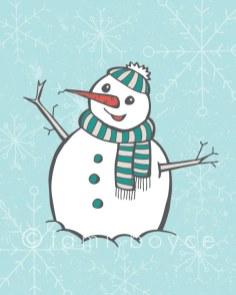 Christmas-Snowman