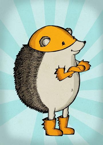Hedgehog the Hero