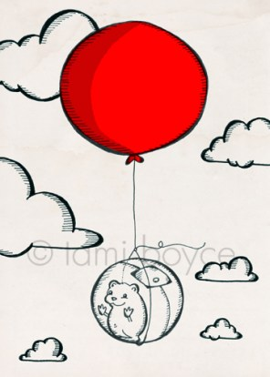 balloon_Hamster Sees the World