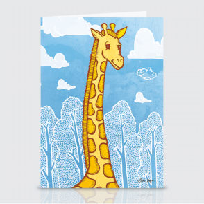 Giraffe Card Set