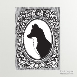 Fox Silhouette, Cameo Series