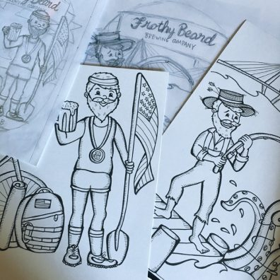 Frothy Sketches