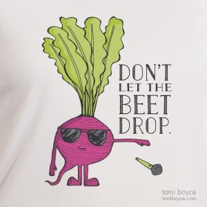 Beet T-Shirt, Eat Your VeggieTEEbles