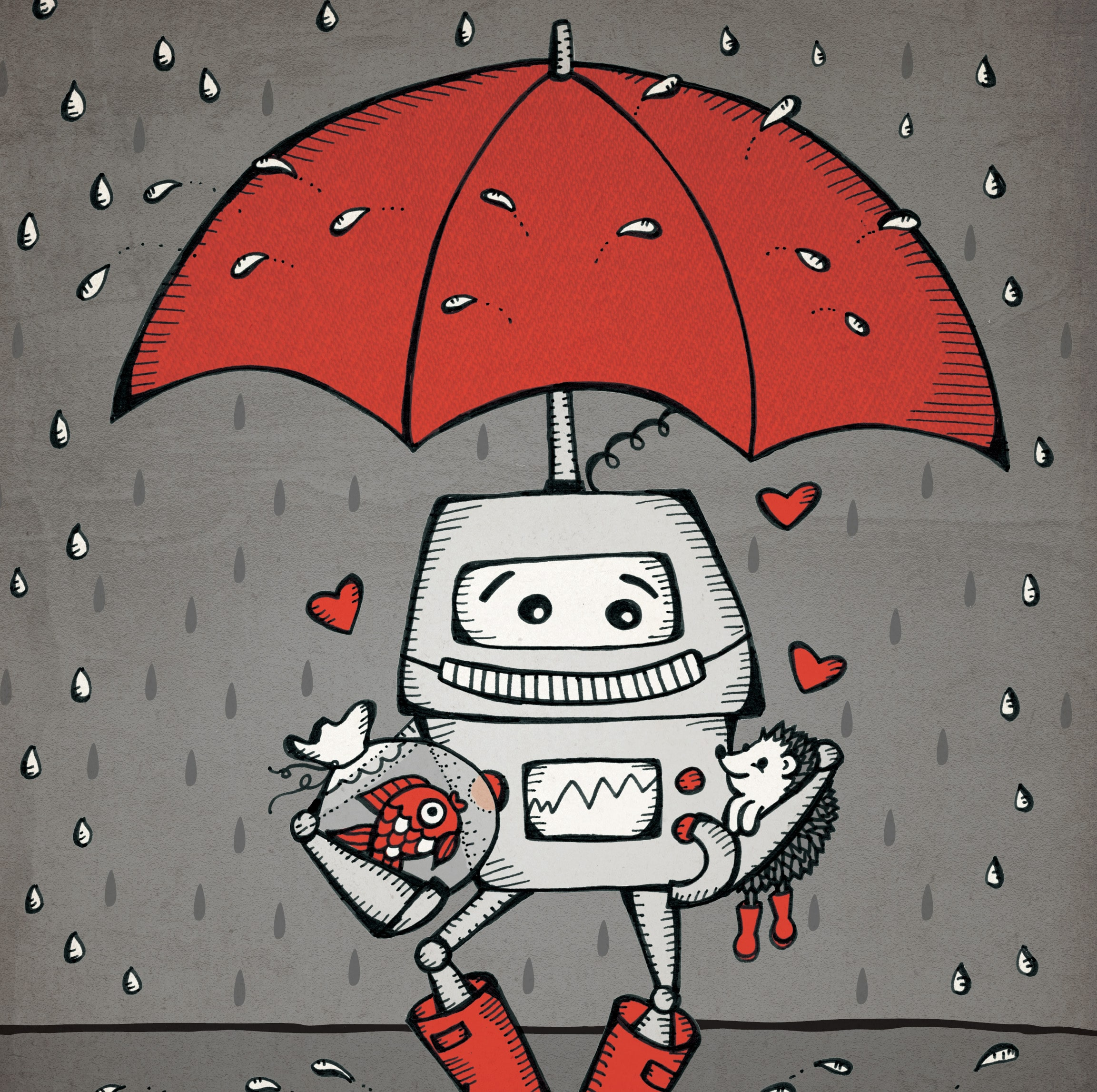Teaching a Robot to Love