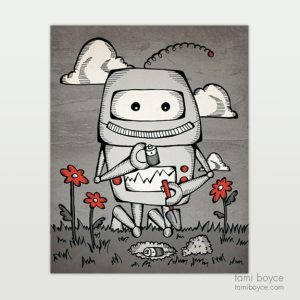Robot Love_Trying to Plant a Friend