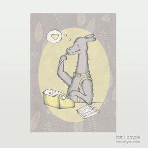 Lovesick Llama