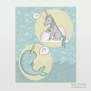 Best Friends: The Unicorn and Narwhal