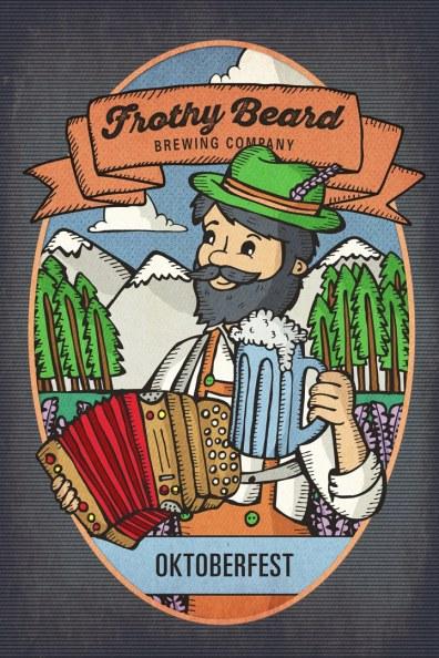 Frothy Oktoberfest Poster HR