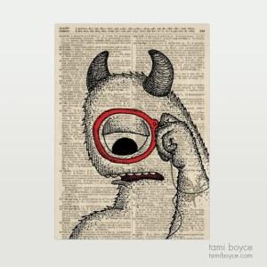 "Cyclops, ""Wiploc"", Monocle"