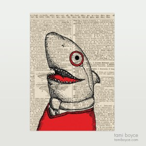 "Shark, ""Wally"", Monocle"