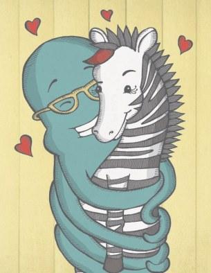 Octopus and Zebra