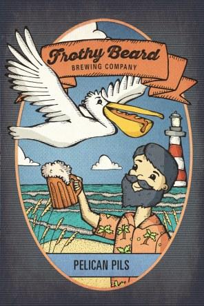Pelican Pils Poster