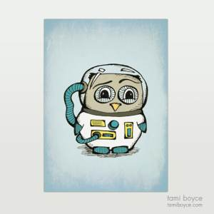 Owl, Astronaut
