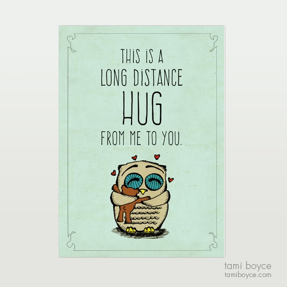 Long Distance Hug, Warm Fuzzy
