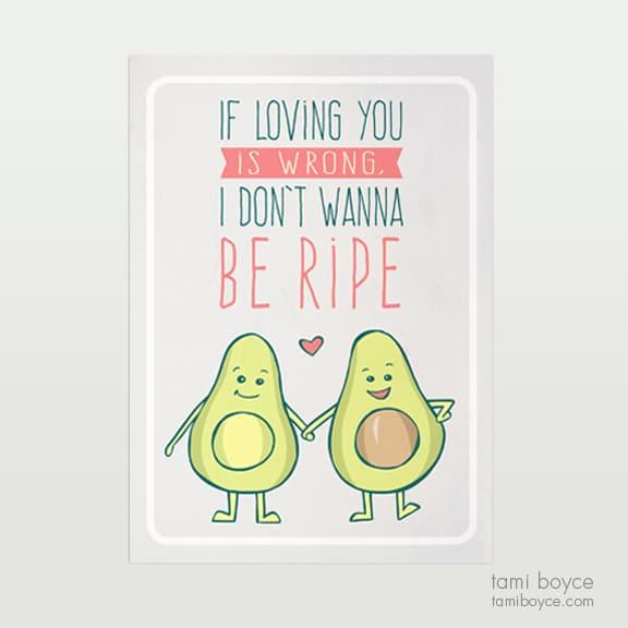avocado don't wanna be ripe