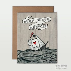 You're the One Greeting Cards