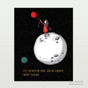 Say Love, less alone Balloon, girl