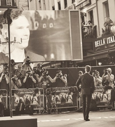 Benedict Cumberbatch, Anna Karenina premiere