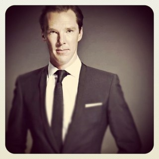 Benedict Cumberbatch, photo by Ian Derry