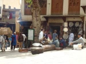 Metal worker's souk