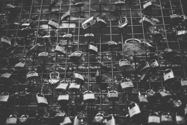 House of Juliet - Verona Italy - love locks