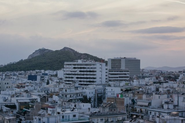 View from our room at the President Hotel in Athens Greece by Tami Keehn.