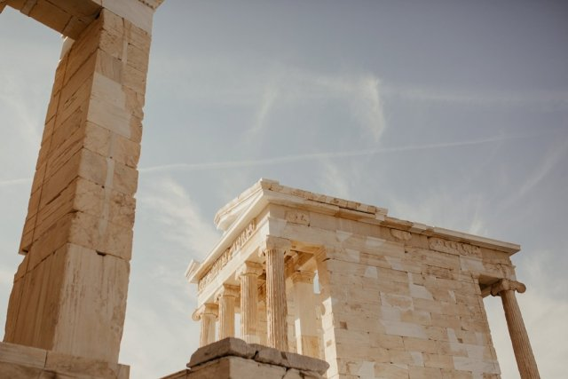 Acropolis in Athens Greece by Tami Keehn.