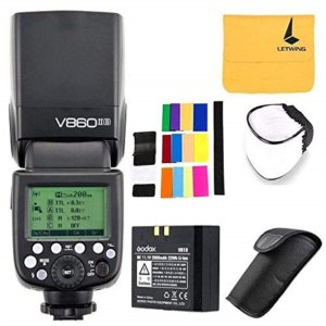 Godox V860II-S High-Speed Sync GN60 1/8000 2.4G TTL Li-on Battery Camera Flash Speedlite