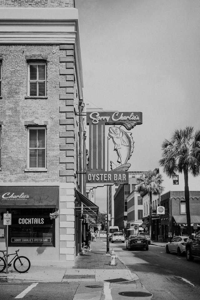 Sorry Charlies Outdoor view in Savannah GA by Tami Keehn