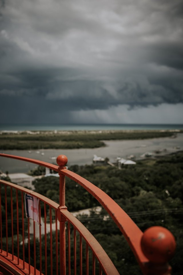 St Augustine Lighthouse by Tami Keehn.