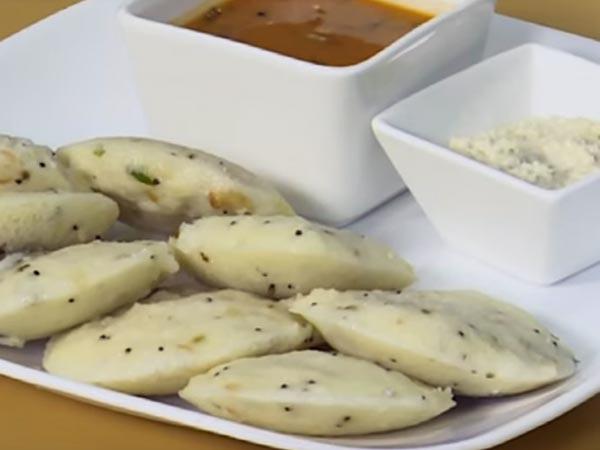 how to make quick rava idli at home