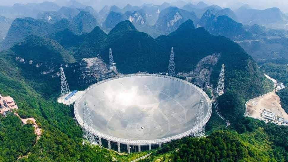 China has opened worlds Largest telescope FAST also known as Sky Eye to the world | உலகின் மிகப் பெரிய ...