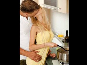Sex in Kitchen