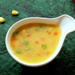 sweetcorn soup in tamil