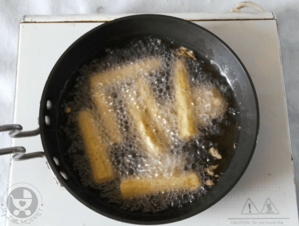 frying of fritters