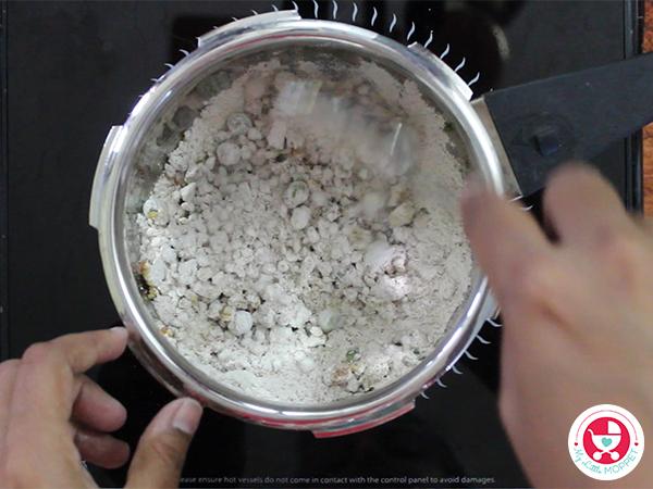 Add Barley and saute