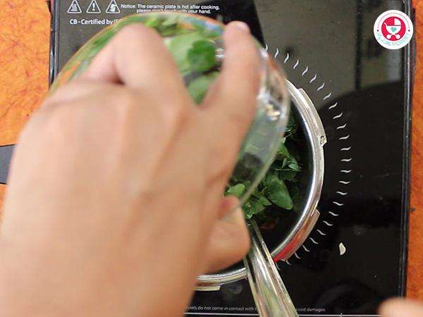 Add moringa leaves