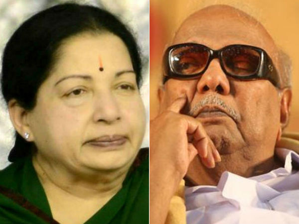 ஆர்.கே.நகரில் ஜெயலலிதா, திருவாரூரில் கருணாநிதி முன்னிலை   Jayalalitha and  Karunanidhi get early leads in their constituencies - Tamil Oneindia