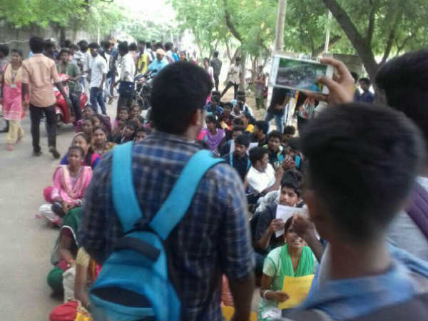 Justice for Anitha: students continues their protest