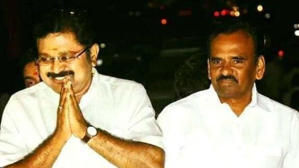 அமைச்சர் கடம்பூர் ராஜூவை வீழ்த்திய கடம்பூர் இளைய ஜமின்தார்... கயத்தாறு  ஒன்றியம் அமமுக வசம் | Manikaraja, who defeated Minister Kadambur Raju in  kayatar union - Tamil Oneindia
