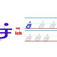 மெய் எழுத்துக்களை எழுதுவது/ Wriitng  the consonants