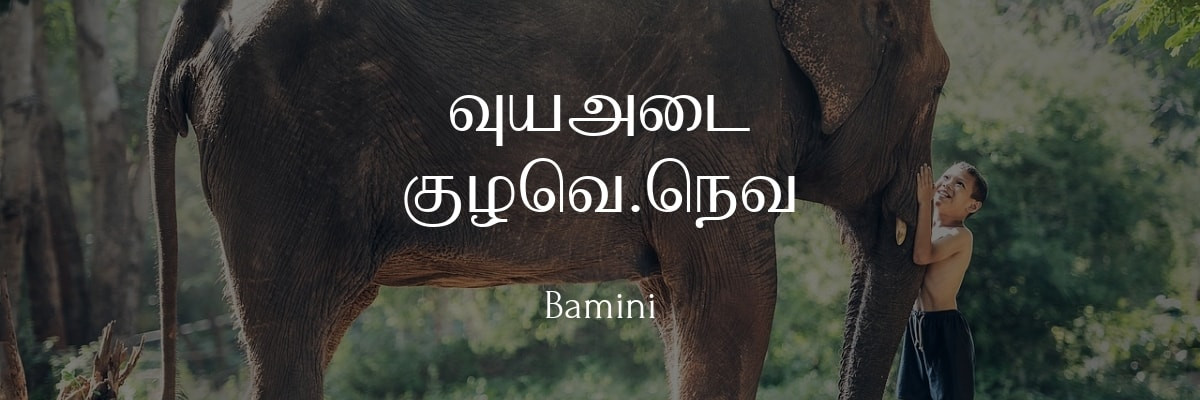 Bamini Tamil Font Keyboard Free Download For Windows 7