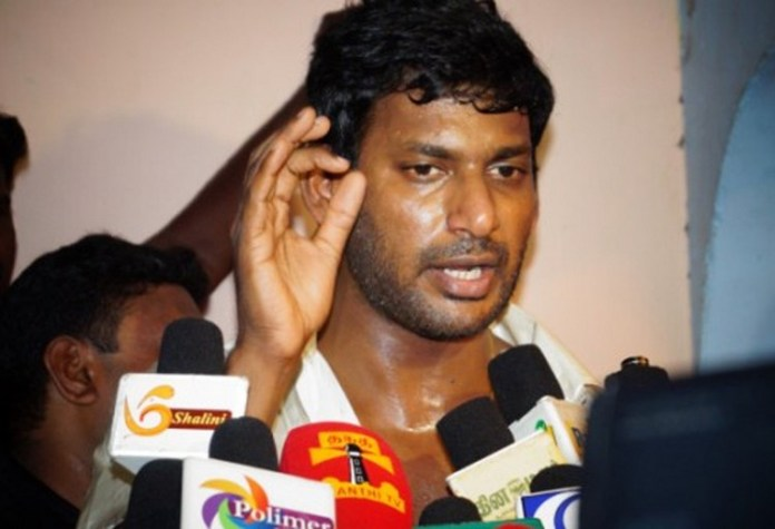 Vishal comment on piracy control - tamilnaduflashnews.com
