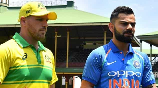 ind vs aus match today 2019