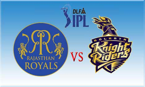 Kolkata Knight Riders vs Rajasthan Royals